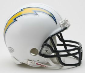 San Diego Chargers Replica Mini Helmet w/ Z2B Face Mask CASY7045