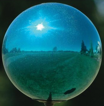 VCS 8 Inch  Mirror Ball Turquoise Stardust