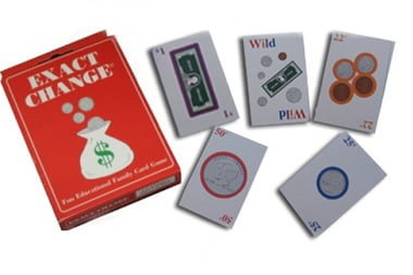 Charity Inspirations EC0001-DS-Exact Change Card Game