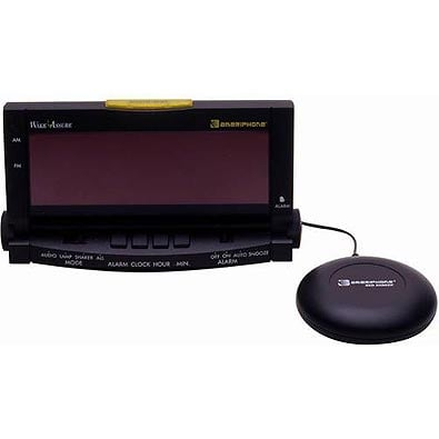 AmeriPhone WAKE ASSURE Alarm Clock with Bed Shaker and Lamp Flasher