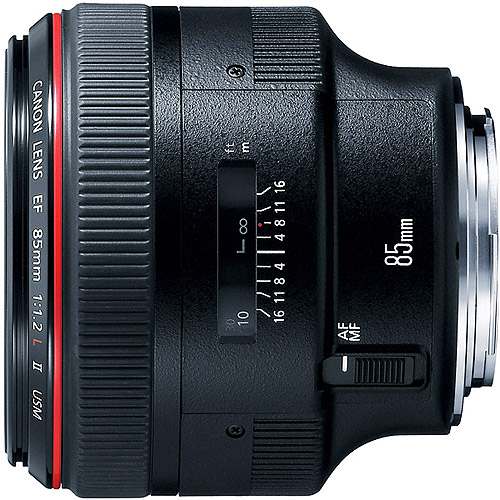 1056B002 EF 85mm f1.2L USM Medium Telephoto Lens