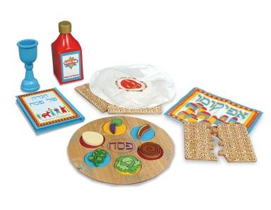 KidKraft 62901 Passover Set Prayer Book in Storage Bag Toy