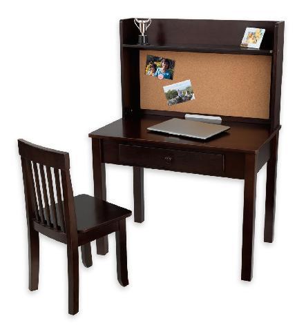 KidKraft 27150 Pinboard Desk with Hutch & Chair