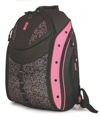 Mobile Edge MEBPEX1 Women's Express Backpack- Pink Ribbon