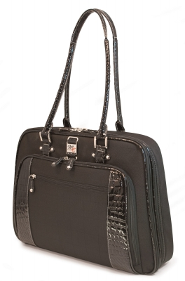 Mobile Edge MESFOBC ScanFast Onyx Briefcase-  Checkpoint Friendly Laptop Bag