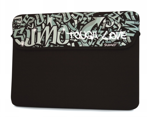 Mobile Edge ME-SUMO77131M 13   Graffiti Sleeve Black Mac