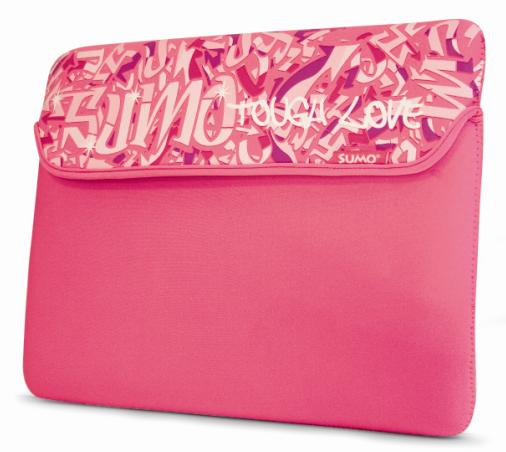Mobile Edge ME-SUMO7715XM 15   Graffiti Sleeve Pink Mac