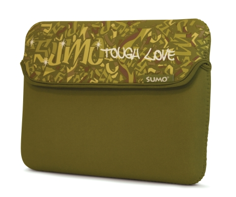 Mobile Edge ME-SUMO77899 8.9   Graffiti Netbook Sleeve Green