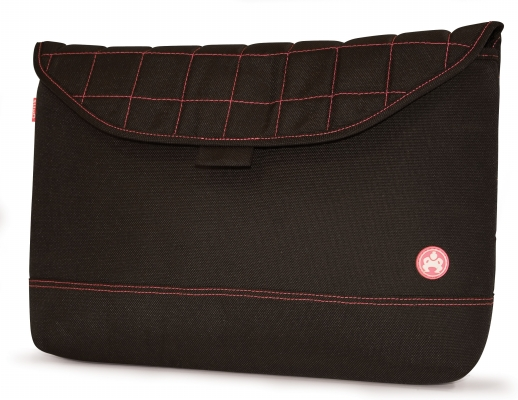 Mobile Edge ME-SUMO88170 17   Nylon Sleeve Black with Pink Stitching