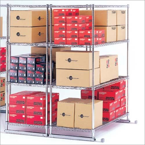 OFM X5S-1860 X5 Preconfigured Kit - 5 Units  4 Shelves Each  18 x 60 Inches  Tracks Included