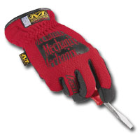 Mechanix Wear MECMFF-02-009 Red Fast-Fit Gloves - Medium