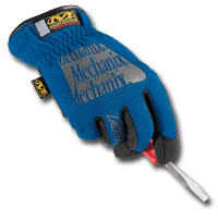 Mechanix Wear MECMFF-03-010 Blue Fast-Fit Gloves - Large