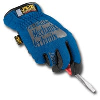 Mechanix Wear MECMFF-03-009 Blue Fast-Fit Gloves - Medium