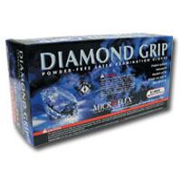 Micro Flex MFXMF300XL Extra Large Diamond Grip Gloves - 100 Per Box