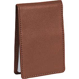 Royce Leather 700-TAN-5 Flip Style Note Jotter - Tan