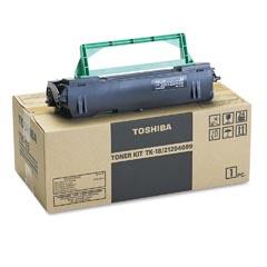 Toshiba Black Fax Toner 6000 Page Black TK-18