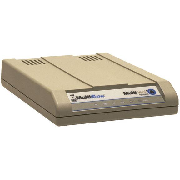 MultiTech MultiModemZDX Data-Fax Modem Serial 2 x RJ-11   1 x DB-25 56Kbps Data-Fax Modem MT5656ZDX