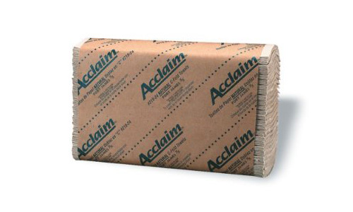 MEDLINE INDUSTRIES NON25815 MULTIFOLD PAPER TOWEL NATURAL BEIGE COLOR 1PLY 9.125 Inch X 9.5 Inch 250 EACH PER PACK 16 PACKS PER CASE PART OF MEDLINE S GREEN TRE