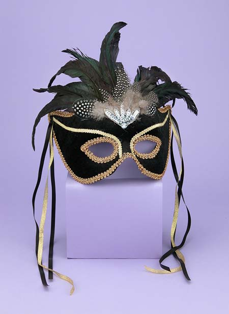Costumes For All Occasions FM56291 Venetian Couple Mask