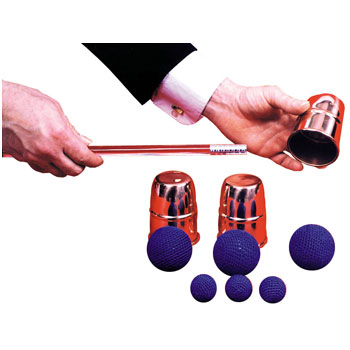 Costumes For All Occasions LA184 Chop Cup Balls Combo Copper MRRS9778