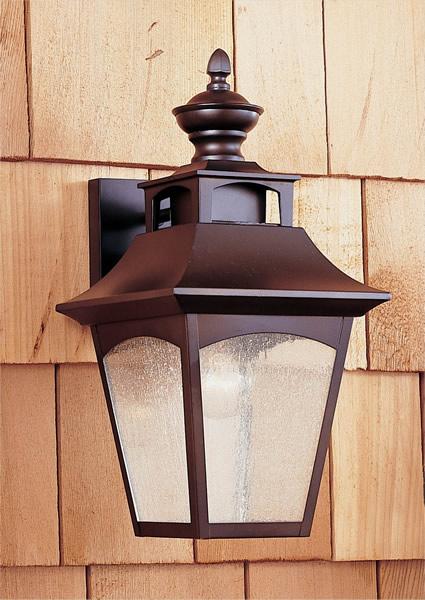 Feiss OL1001ORB Homestead Oil Rubbed Bronze Wall Mount Lantern