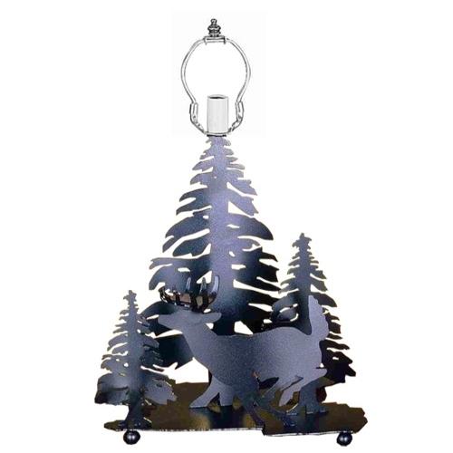 Meyda Tiffany 28732 14 Inch Deer/3 Trees Base Black