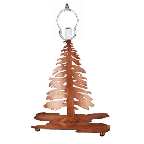 Meyda Tiffany 28895 14 Inch Pine Tree Base A/C