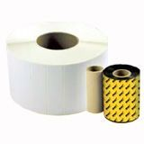 Wasp WXR Resin Ribbon For WPL305 and WPL606 Label Printers - Black ING23143