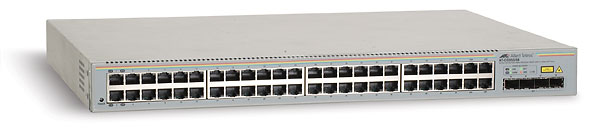 Allied Telesis GS950/48 Managed WebSmart Ethernet Switch - 48 x 10/100/1000Base-T LAN - 4 x SFP (mini-GBIC) - Managed Ethernet Switch