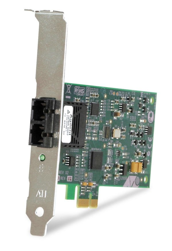 Allied Telesis AT-2711FX Fast Ethernet Fiber Network Interface Card - PCI Express - 1 x ST 100Base-FX - 100Mbps Fast Ethernet - Fiber
