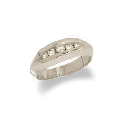 Wedding Ring Sale on 14k White Gold Mens Diamond Wedding Ring Size 11 5