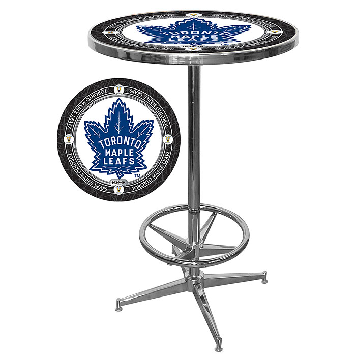NHL Toronto Maple Leafs Pub Table- NHL2000-TMLV