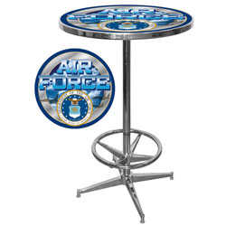 US Air Force Officially Licensed Pub Table USAF2000