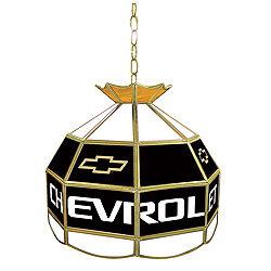 Chevy Stained Glass 16 Inch Lighting Fixture