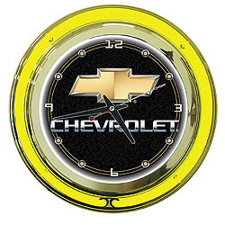 "Chevy 14"" Neon Clock- GM1400CH"