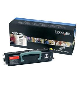 Lexmark International X203A21G Toner Cartridge