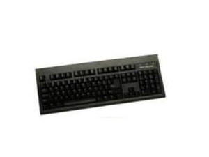 RoHS compliant  Large L shape Enter key  PS2 cable keyboard in Black