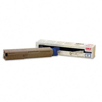 OKIDATA C3400n HC Cyan Toner Cartridge 43459303