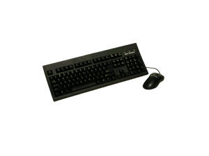 RoHS compliant  Large L shape Enter key keyboard bundled with optical mouse  Bla