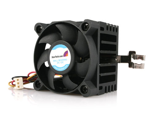 This StarTech socket 7/730 CPU cooling fan optimizes heat dissipation and re