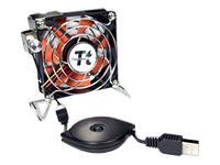 Thermaltake Technology - Thermaltake Mobile Fan II External USB Cooling Fan - US (SYN25722 A1888) photo