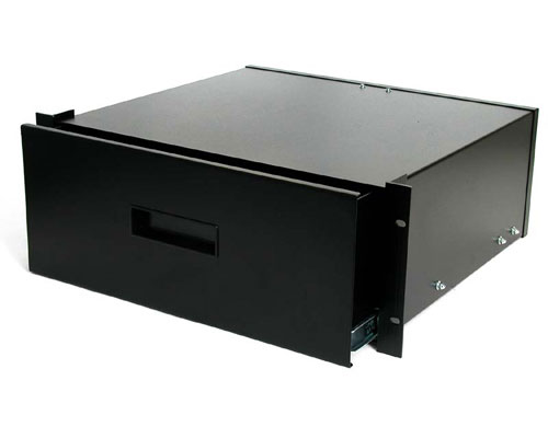 4 U Storage Drawer For Computer Rack Cab