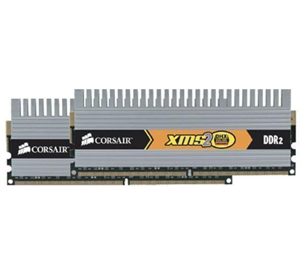Corsair XMS2 4GB DDR2 SDRAM Memory Module - 4GB - 800MHz DDR2-800/PC2-6400 - DDR2 SDRAM - 240-pin DIMM