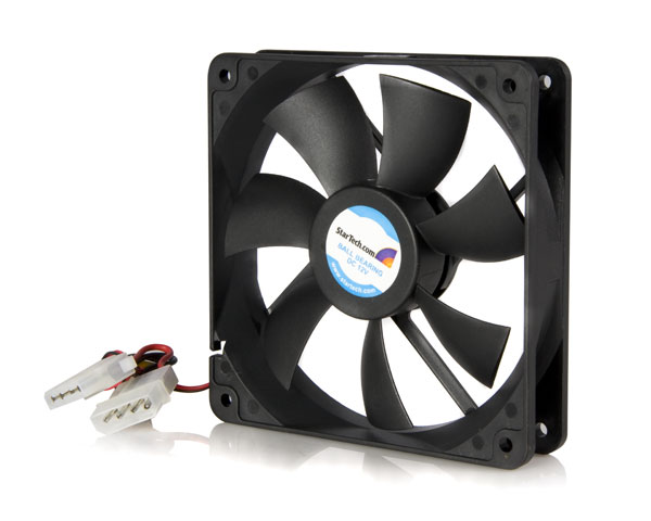 12 cm PC Computer Case Cooling Fan w/LP4