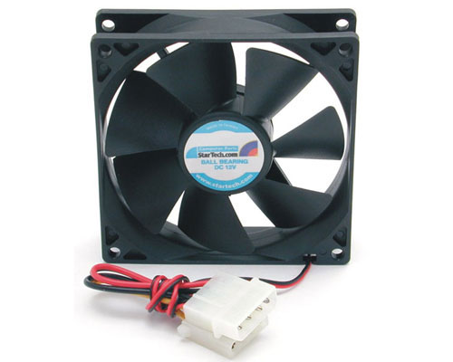 9.2cm PC Computer Case Cooling Fan w/LP4