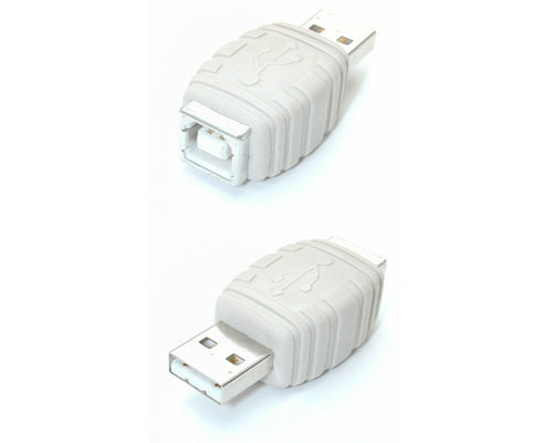 Cable Gender Changer USB A Male to USB B