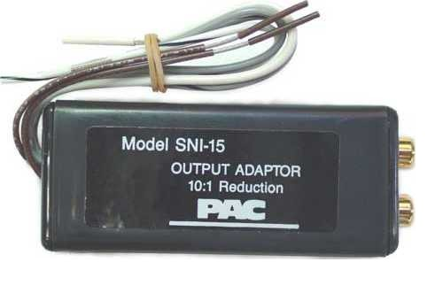 PACIFIC ACC CORP. SNI15 High Efficiency Line Level Converter