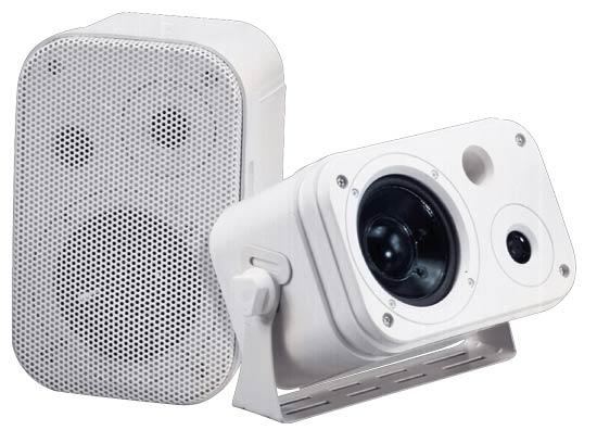 SOUND AROUND ELECTRONICS 3071WP 300 Watts 3.5   2-Way Indoor/Outdoor Waterproof Speaker System