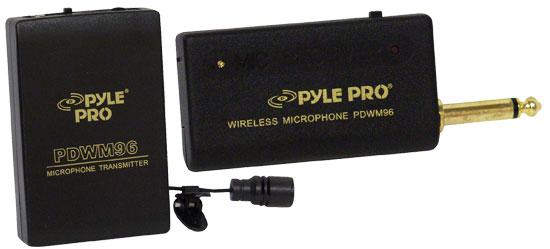 SOUND AROUND/PYLE INDUSTRIES PDWM96 Lavalier Wireless Microphone System