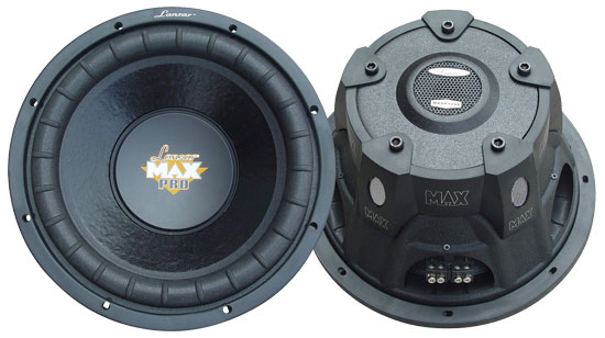 SOUND AROUND/LANZAR AUDIO MAXP124D 12   1600 Watt Dual Voice Coil Subwoofer Driver for Small Enclosures